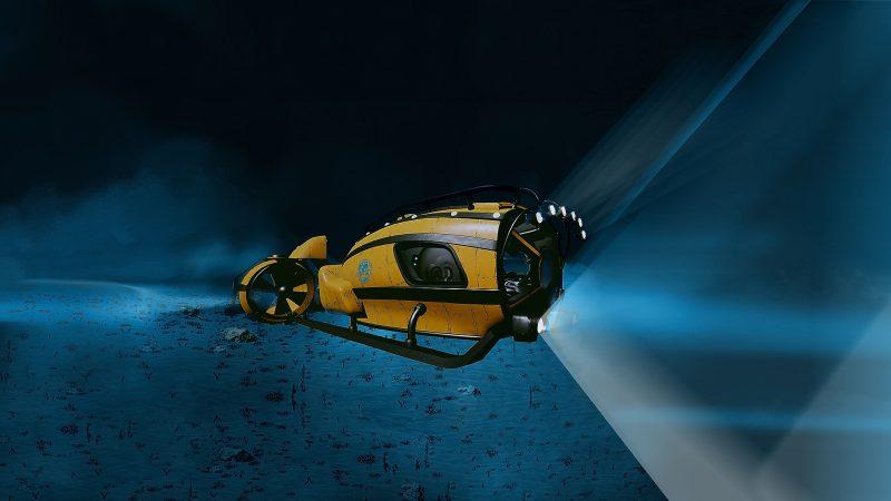 XVIII век: часть 2. Подводная экспедиция
