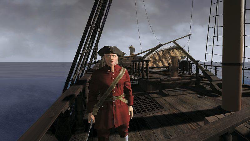 XVIII век: часть 3. Корабельное сражение