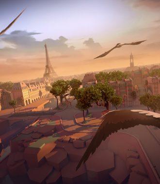 Перемещение в будущее: Eagle Flight — Париж с высоты птичьего полета 8+